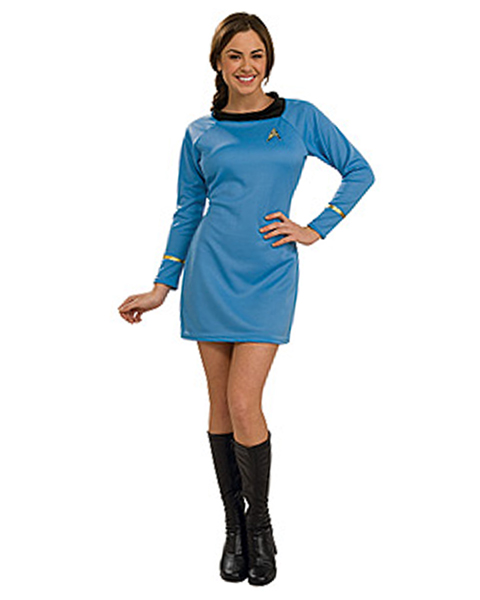 Star Trek Classic Adult Blue Dress