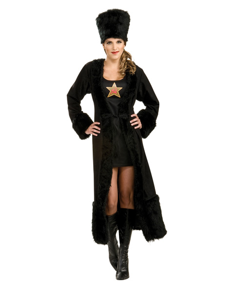Black Russian Womens Costume