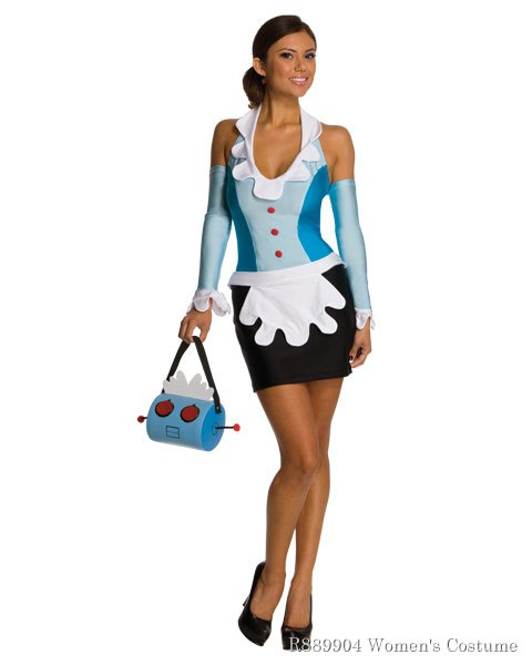 Womens The Jetsons Rosie The Maid Sexy Costume