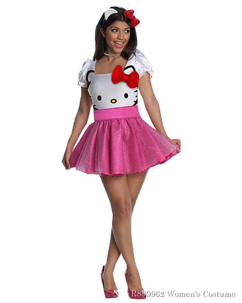 Sexy Hello Kitty Tutu Dress Costume