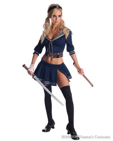 Womens Baby Doll Sucker Punch Sexy Costume