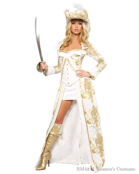 Sexy Deluxe Pirate Queen Women's Costume