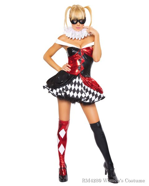 Sexy Clown Women's Costume