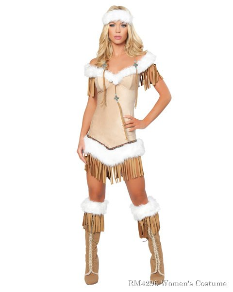 Sexy Indian Snow Princess Women's Costume