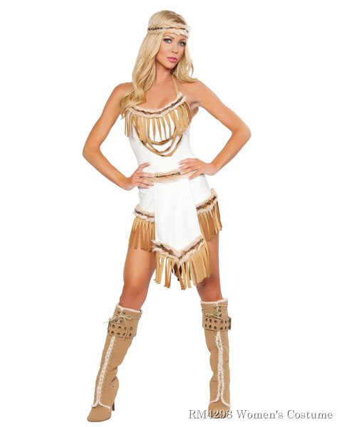 Sexy Indian Huntress Women's Costume