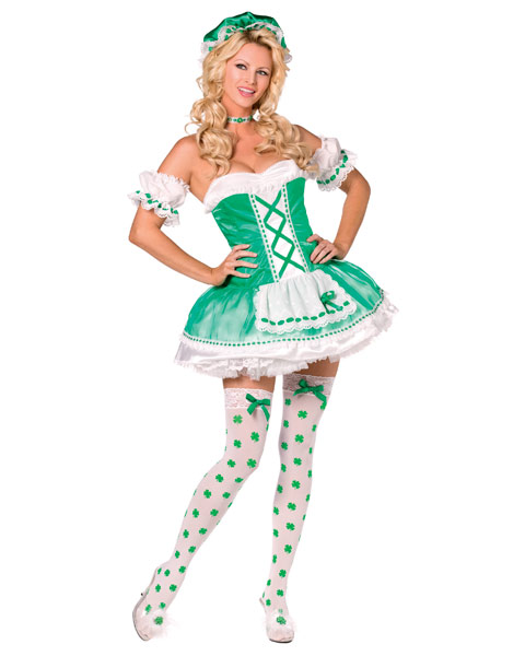 Bijou Boutique St. Paddys Adult Costume