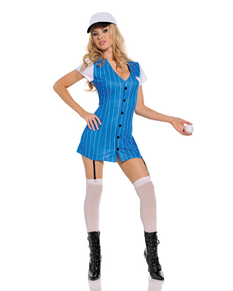 Baseball Third Base Sexy Womens Costume