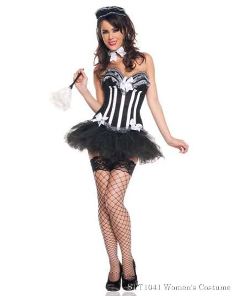 Deluxe Sexy Carousel Maid Womens Costume