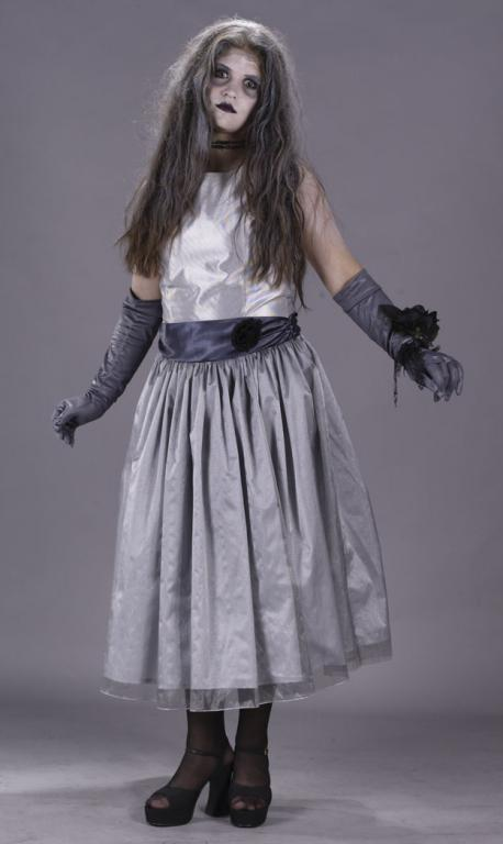 Dead Prom Queen Zombie Teen Costume