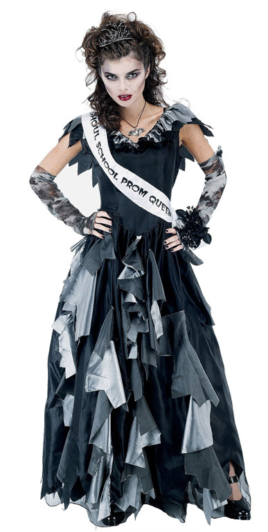 Zombie Prom Queen Womens Costume